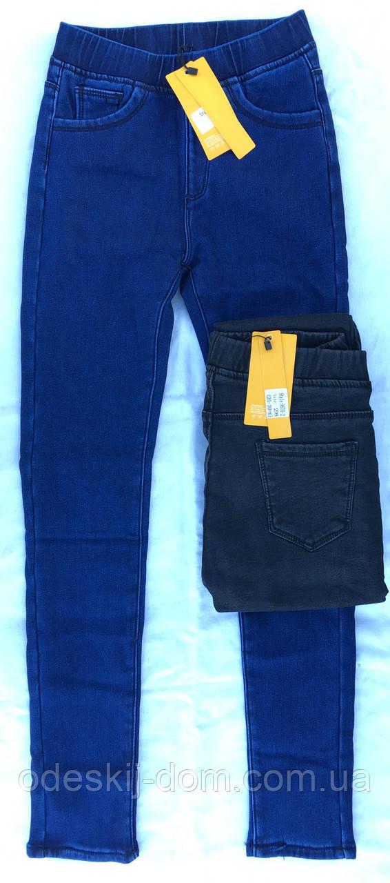 Женские котоновые джинсы на меху тм Кена
