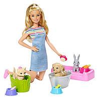 Набор Барби Купай и играй Barbie Wash Pets
