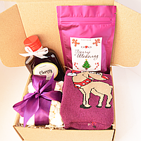 Подарочный набор Новогодний Purple, фото 1