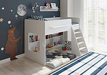 Дитяче ліжко-горище Art-In-Head ЛЕГЕНДА АЛД-15 білий супермат