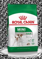 Корм для собак мелких пород старше 10 месяцев 8 кг. Royal Canin (Роял Канин) Mini Adult