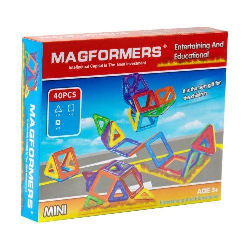 """Магнитный конструктор """"Magformers"""" (40 дет) 008A scs"""