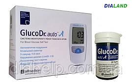Глюкометр ГлюкоДоктор авто А (GlucoDr. auto A) AGM-4000 + 25 полосок
