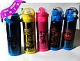 Термос детский  MINNI MOUSE школьный с трубочкой для девочек 500 ml, купить оптом со склада Одесса 7км, фото 3