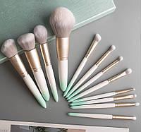 Набор кистей для макияжа 12шт Beautiful