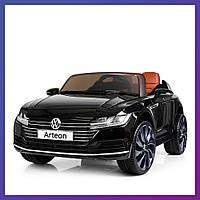 Детский электромобиль Volkswagen с пультом Bambi M 3993 (MP4) EBLR-2 черный | Дитячий електромобіль Бембі