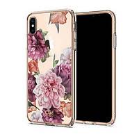 Накладка для iPhone XS Max Spigen Cyrill Cecile Rose Floral