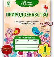 Природознавство 1 клас Нова програма Робочий зошит До підручника Гільберг Т. Авт: Хитра З. Вид-во: Весна