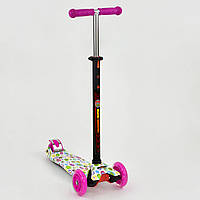 Самокат BEST SCOOTER А 24641 /779-1400 розовый (MAXI), фото 1