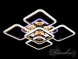 Світлодіодна стельова люстра A8060/4+1G LED 3color dimmer, фото 5