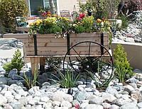 Передвижные декоративные тележки для сада, дачи, загородного участка (Decorative Garden Cart 01)