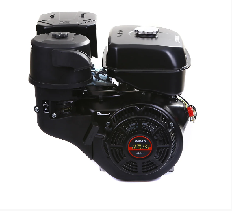 Двигатель бензиновый WEIMA WM190F-S (16л.с., шпонка Ø25мм, L =60 мм) + доставка