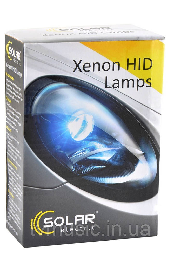 Ксеноновые лампы SOLAR HB3 (9005) 85V 35W 6000K