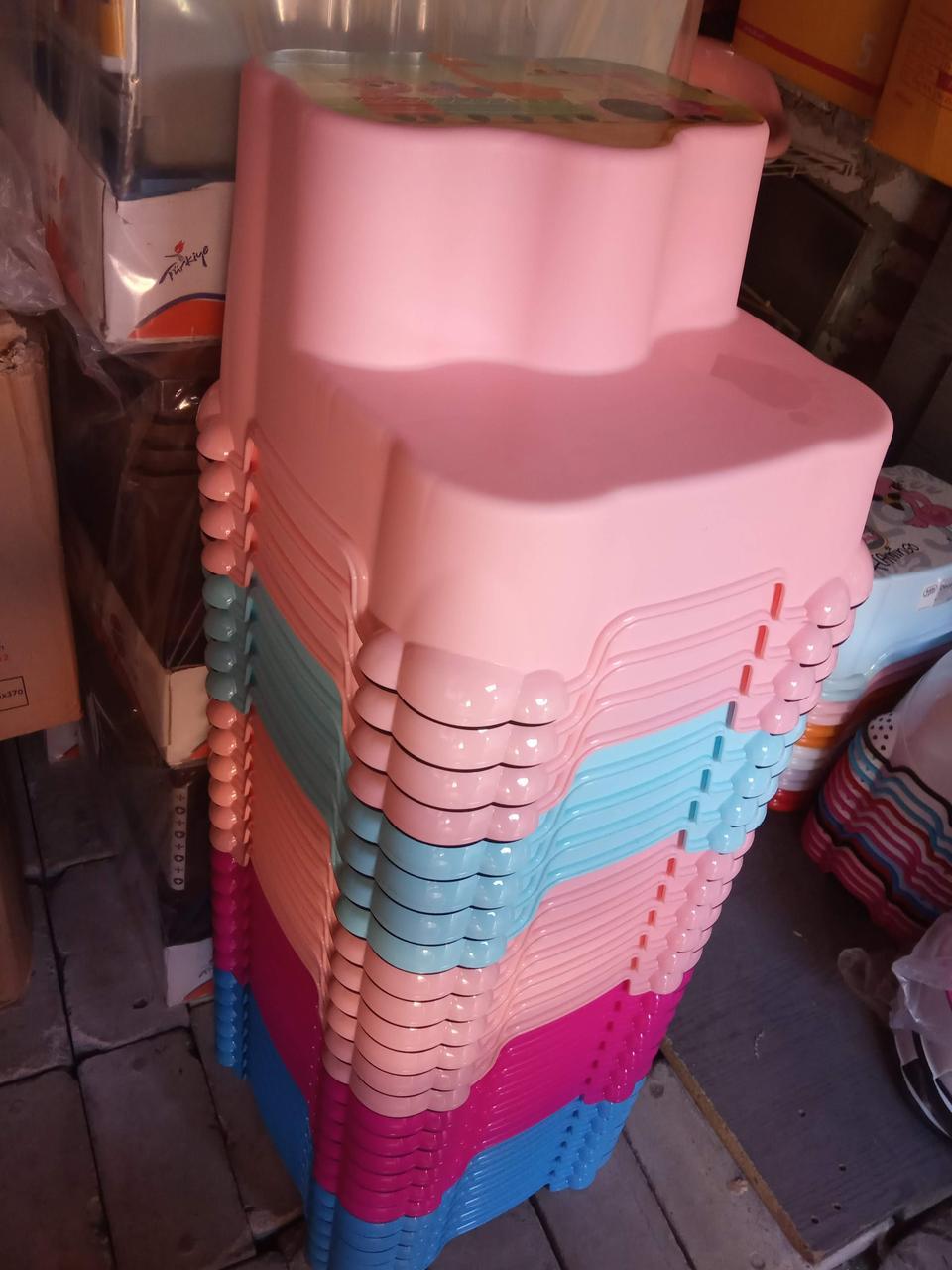 Подставка для ног 2 ступени с антискользящим покрытием