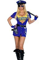 Карнавальный костюм Полицейский женский (стрип)