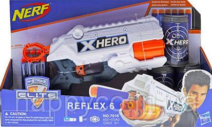 Бластер Детский Пистолет с мягкими патронами и мишенью