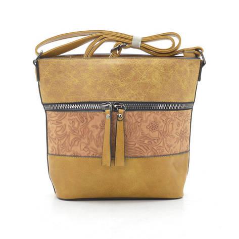Жіноча сумка 7135 жовта, фото 2