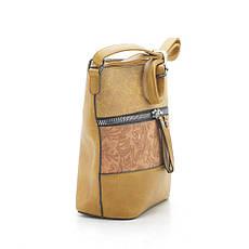 Жіноча сумка 7135 жовта, фото 3