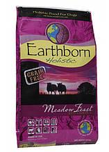 Earthborn Holistic Dog GRAIN FREE Meadow Feast with Lamb Meal для собак с чувствительны желудком ягненок 12кг