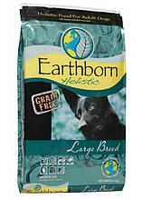 Earthborn Holistic Dog Large Breed для взрослых собак крупных пород (курица и белая рыба) 12 кг