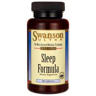 Swanson Ultra Sleep Formula супер формула для здорового сна 60 капс