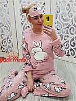 Качественная женская махровая пижама