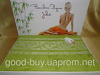 Бамбуковая махровая простынь - покрывало  Julie - Турция    pr-p73