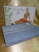 Бамбуковая махровая простынь - покрывало  Julie - Турция    pr-p75