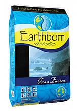 Earthborn Holistic Dog Ocean Fusion для взрослых собак всех пород и возрастов (белая рыба) 12кг