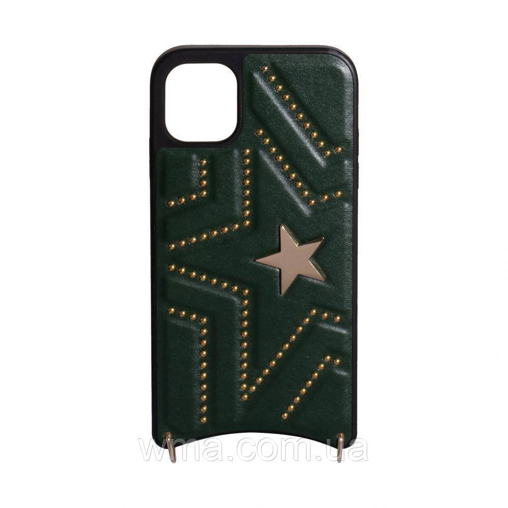 Чехол для телефонов (Смартвонов) Задняя Накладка Handbag for Apple Iphone 11 Pro Цвет Зелёный