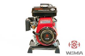 Мотопомпа бензиновая Weima WMQGZ40-20 (WM152F) патрубок 40мм, 27куб/час  Бесплатная доставка !!!