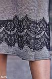 Расклешенная теплая юбка-миди, фото 4
