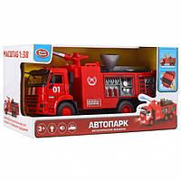 Детская пожарная машинка в коробке, фото 1