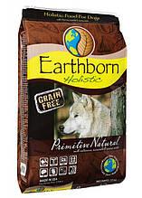 Earthborn Holistic Dog Primitive Natural для активных собак всех пород и возрастов (курица и белая рыба) 2.5кг