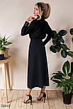 Длинная юбка-миди на пуговицах спереди, фото 3