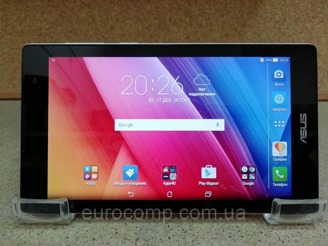 Планшет Asus ZenPad 7 Z170CG (7''/4 ядра/1GB/16GB/3G звонки 2 SIM/Android 5.0/White)