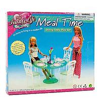 Детская мебель для кукол столовая