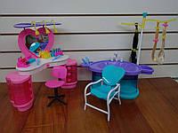Мебель для кукол глория парикмахерская