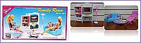 Мебель для Барби Gloria гостиная для кукол