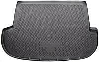 Коврик в багажник для Хендай Санта Фе, Hyundai Santa Fe (CM) (06-10) полиуретановый NPL-P-31-22N