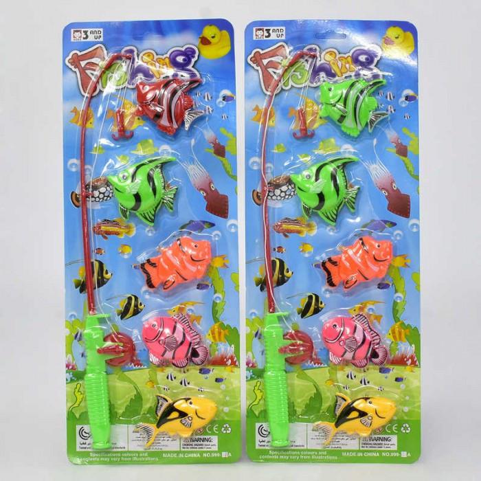Игра для детей «рыбалка», 2 вида, 5 рыбок