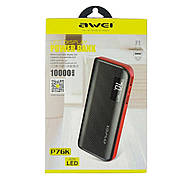 Портативная Батарея Awei P76K (10000mAh) Black, фото 2