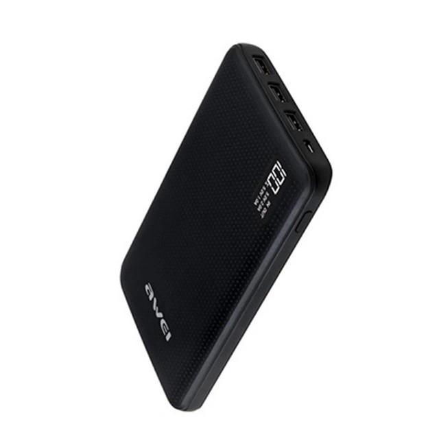 Портативная Батарея Awei P56K (30000mAh) Black