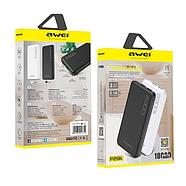 Портативная Батарея Awei P28K (10000mAh) White, фото 3
