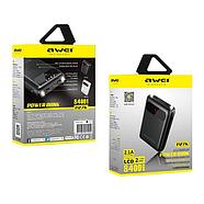 Портативная Батарея Awei P27K (8400mAh) White, фото 2