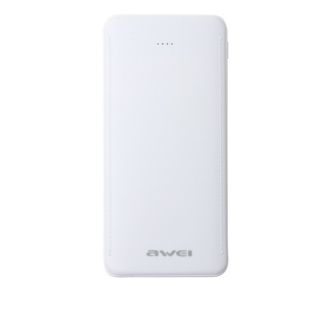 Портативная Батарея Awei P99K (10000mAh) White