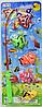 Игрушечная рыбалка для детей, 5 рыбок