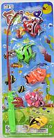 Игрушечная рыбалка для детей, 5 рыбок, фото 1