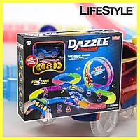DAZZLE TRACKS 187 деталей с пультом управления   Игрушечный трек для машинок   Конструктор трасса
