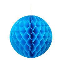 Шар соты (15см) синий